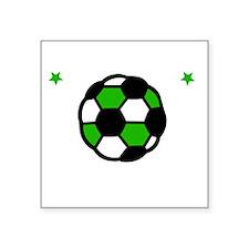 "Soccer Bro -dk Square Sticker 3"" x 3"""
