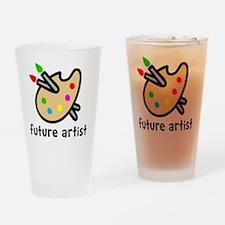 Future Artist Drinking Glass