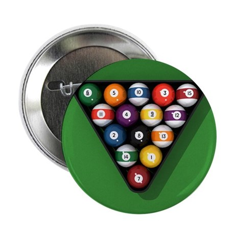 "Pool-Balls-0100000.png 2.25"" Button (100 pack)"