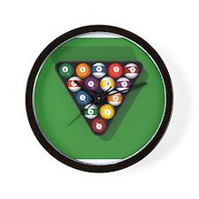 Pool-Balls-0100000.png Wall Clock