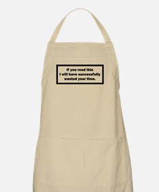 Wasting your time Apron