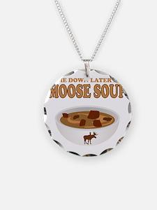 I love Moose Soup Necklace