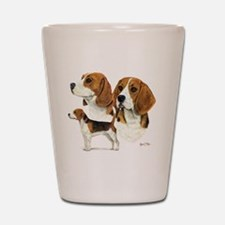 Beagle Multi Shot Glass