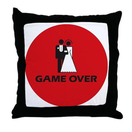 gameOverPIN Throw Pillow