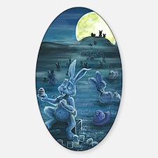 Zombie Peeps Sticker (Oval)