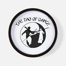 Tao of Dance Wall Clock