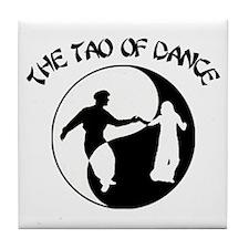 Tao of Dance Tile Coaster