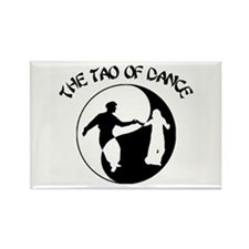 Tao of Dance Rectangle Magnet