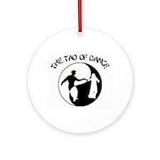 Tao of Dance Ornament (Round)
