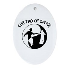 Tao of Dance Ornament (Oval)