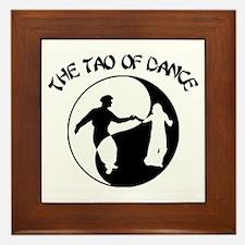 Tao of Dance Framed Tile