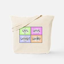 Live Love Laugh Lindy Tote Bag