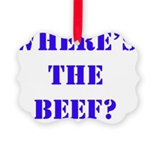 beef4 Ornament