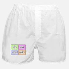 Live Love Laugh Lindy Boxer Shorts