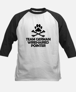 Team German Wirehaired Pointer Baseball Jersey