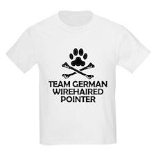 Team German Wirehaired Pointer T-Shirt