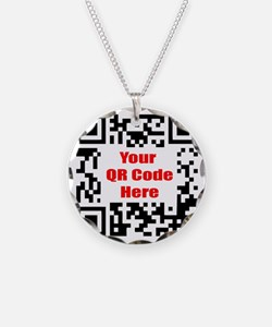 Personalized QR Code Necklace