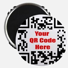 Personalized QR Code Magnet