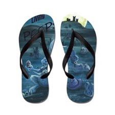 Zombie Peeps Flip Flops