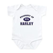 Property of harley Infant Bodysuit