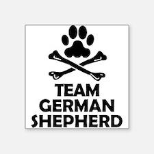 Team German Shepherd Sticker