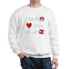 PeaceLoveSoccer Sweatshirt