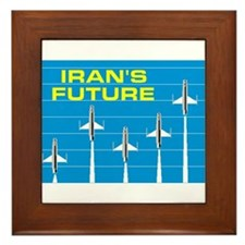 IRANIAN FUTURE Framed Tile