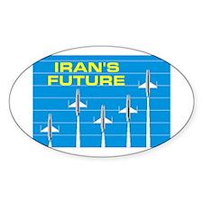 IRANIAN FUTURE Oval Decal