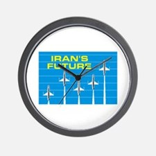 IRANIAN FUTURE Wall Clock