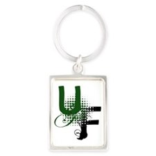 UF Logo Portrait Keychain