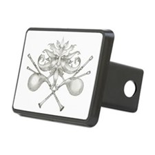 The Green Bagpipe Man Hitch Cover