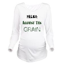 Paleo Long Sleeve Maternity T-Shirt