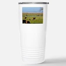 Highland Cattle near Loch Leven Travel Mug