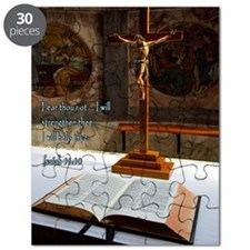 Isaiah 41-10 Bible and Cross Puzzle