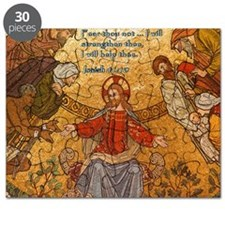 Isaiah 41-10 Jesus Mosaic Puzzle
