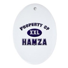 Property of hamza Oval Ornament