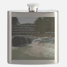 Isaiah 58-11 Waterfall Flask