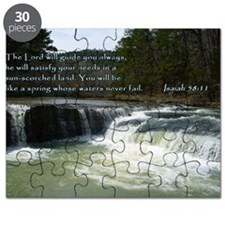Isaiah 58-11 Waterfall Puzzle