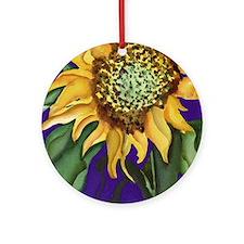 sunflow2800er Round Ornament