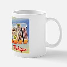 Detroit Michigan Greetings Mug