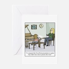 Cute Teacher student Greeting Cards (Pk of 10)