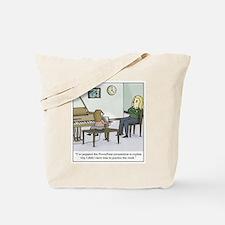 Unique Piano teacher Tote Bag
