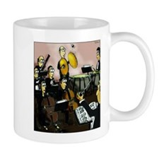 Cymbalist and Fly Mugs