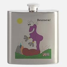 Beaner! In Purrpl Flask