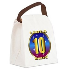10cleang Canvas Lunch Bag