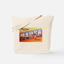 Marfa Texas Greetings Tote Bag