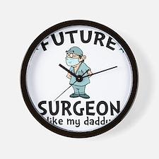 Surgeon Dad Wall Clock