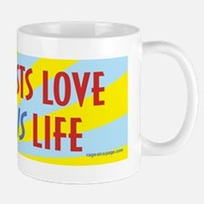 Atheists Love This Life Mug