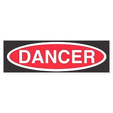 Danger Dancer Bumper Bumper Sticker