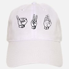 ivf fingerspelling Baseball Baseball Cap